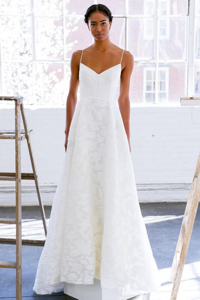 simple wedding dresses lela rose 011 8 Real Brides Spill Their Smart, Sane Pre Wedding Diet Tips