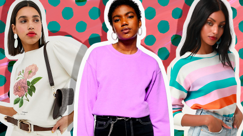 Spring Sweatshirts Are the Seasonal Must-Have You'd Never Think to Buy | StyleCaster
