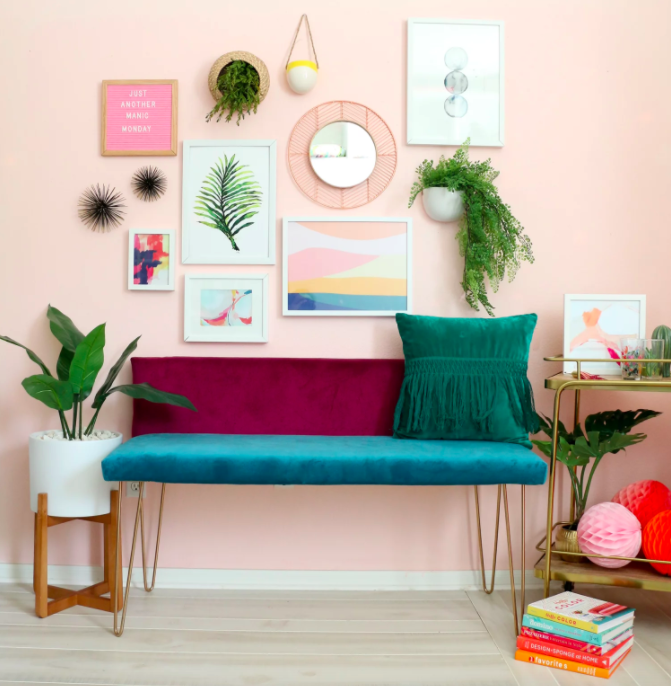 wall art a beautiful mess How to Feng Shui Small Spaces: 7 Tips That Transformed My Tiny Apartment
