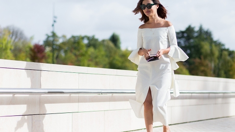 12 Little White Dresses for All This Weekend's (Springtime!) Parties | StyleCaster