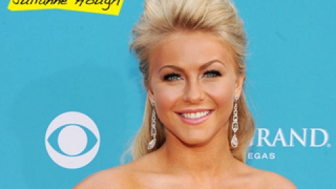 Julianne Hough's Half-Up Hairstyle | StyleCaster