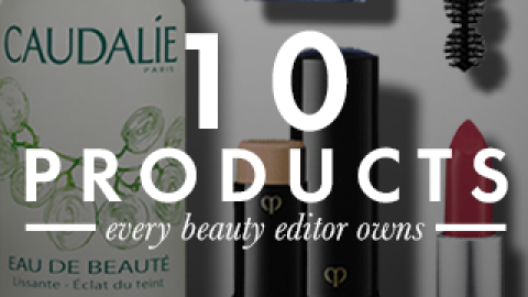 10 Products Every Beauty Editor Owns | StyleCaster