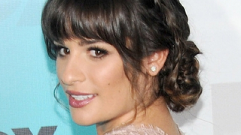 Get The Look: Lea Michele's Braided Updo | StyleCaster