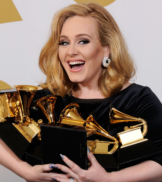 Celeb Manis at the Grammys