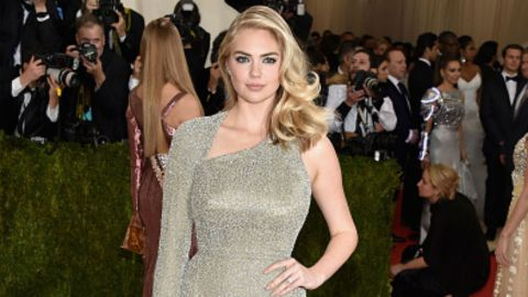 Kate Upton Flashes Huge Engagement Ring on Met Gala Red Carpet | StyleCaster