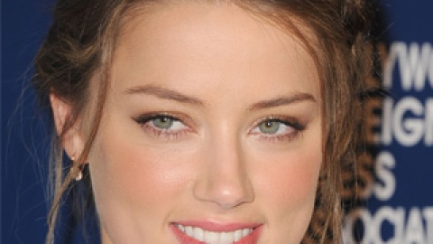 Amber Heard's Braided Updo is the Most Flattering Version We've Seen | StyleCaster