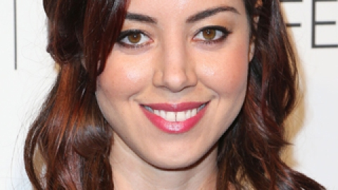 Makeover Alert! Aubrey Plaza Debuts an Ombré Bob | StyleCaster