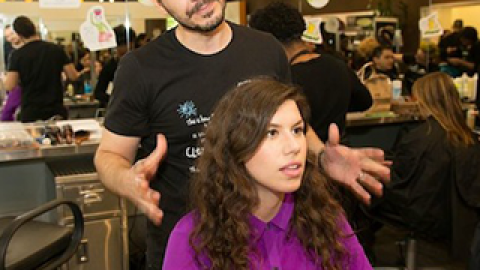Cuts for a Cause: A Mini Makeover from Aveda   StyleCaster