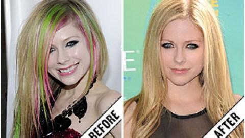 The Makeover Poll: Avril Lavigne's Golden Blonde Look | StyleCaster
