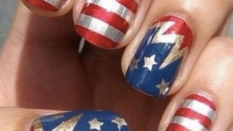 Instagram Inspiration: Patriotic Manis   StyleCaster