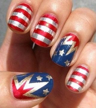 Instagram Inspiration: Patriotic Manis