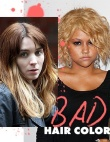 Celebrities Who Chose The Wrong Hair Color