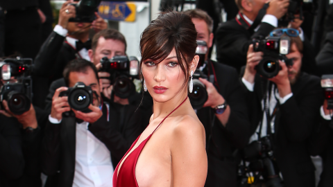 Bella Hadid's Hip Bones Just Walked the Cannes Red Carpet  | StyleCaster