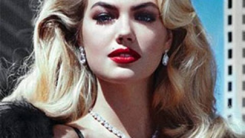 Get The Look: Kate Upton's Vogue Italia Hair | StyleCaster
