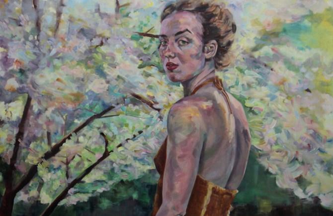 Self-portrait by Chloe Allred