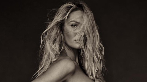 Of Course Candice Swanepoel Reveals the Sex of Her Baby with a Hot Topless Photo | StyleCaster