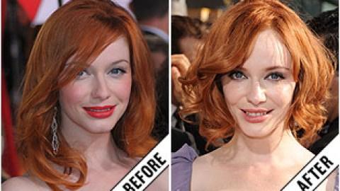 The Makeover Poll: Christina Hendricks' Short Hairstyle | StyleCaster