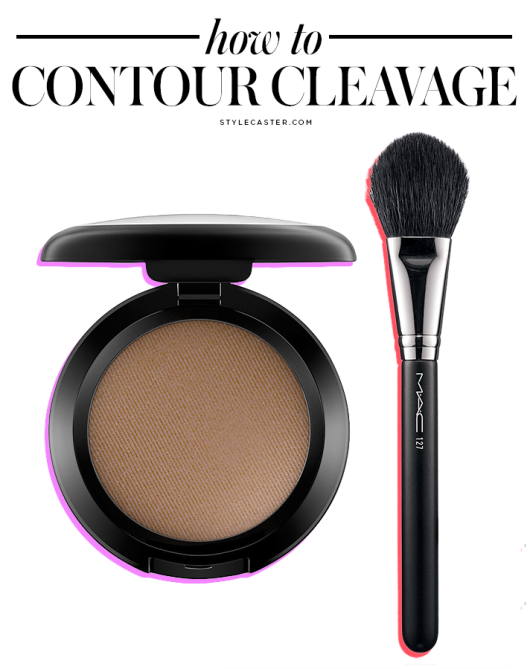 contour How to Master Cleavage Contouring in Under a Minute