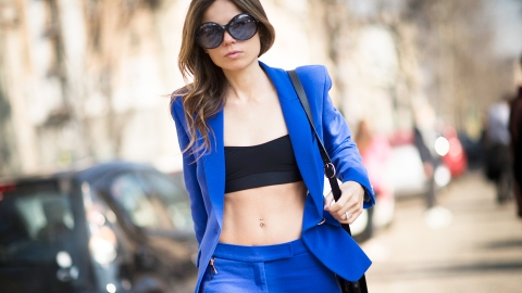 One Trick That Will Refresh Your Pantsuit for Spring | StyleCaster