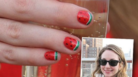 Get A Mani To Match Your Cocktail   StyleCaster