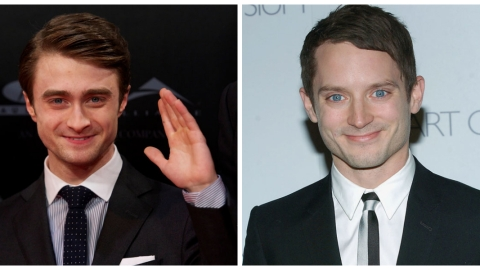 20 Amazing Reactions to the Elijah Wood and Daniel Radcliffe Look-Alike GIF  | StyleCaster