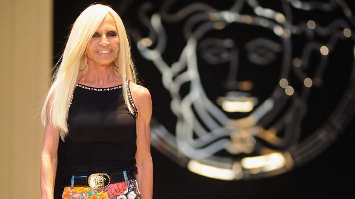 An Ode to Donatella Versace's Unapologetically Maximalist Style