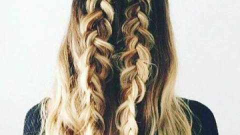 The Pretty Party Braid You Must Try | StyleCaster