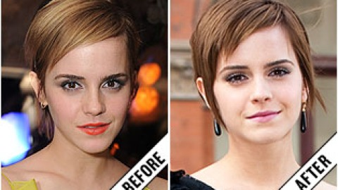 The Makeover Poll: Emma Watson's Darker 'Do | StyleCaster