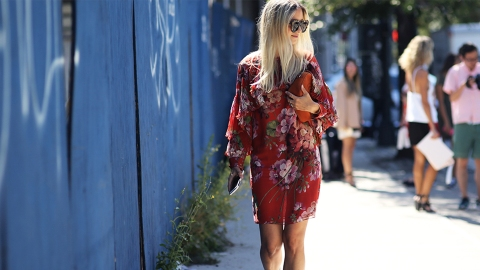 15 Non-Basic Ways to Wear Florals for Spring | StyleCaster