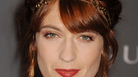 Would You Wear It? Florence Welch's Heidi Braid and Chain Necklace Look | StyleCaster