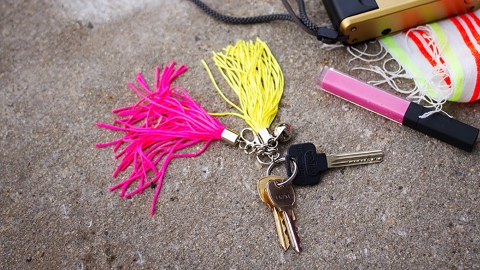 This DIY Key Fob Ensures You'll Never Misplace Your Keys Again | StyleCaster
