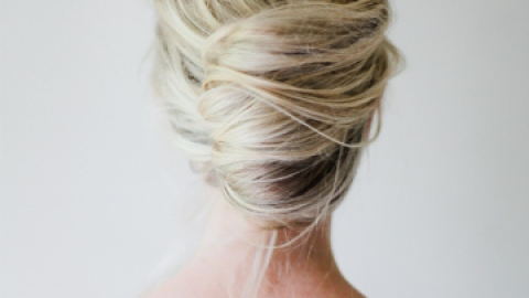 Your Weekend Hairstyle: The French Twist | StyleCaster