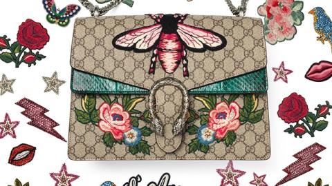 Now You, Die-Hard Gucci Lover, Can Customize Your Own Embroidered Bag   StyleCaster