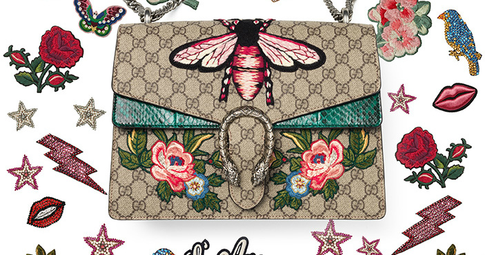 Gucci Introduces 'DIY' Program That Lets You Customize Your Own Embroidered Bags