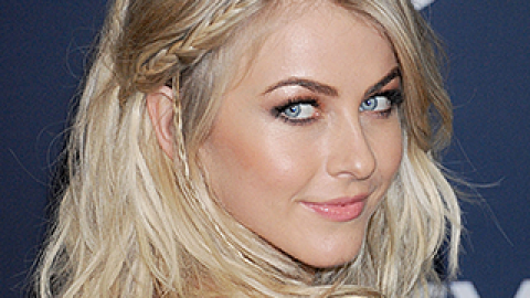 Hair Crush: The Secret to Julianne Hough's Perfectly Textured Hair | StyleCaster