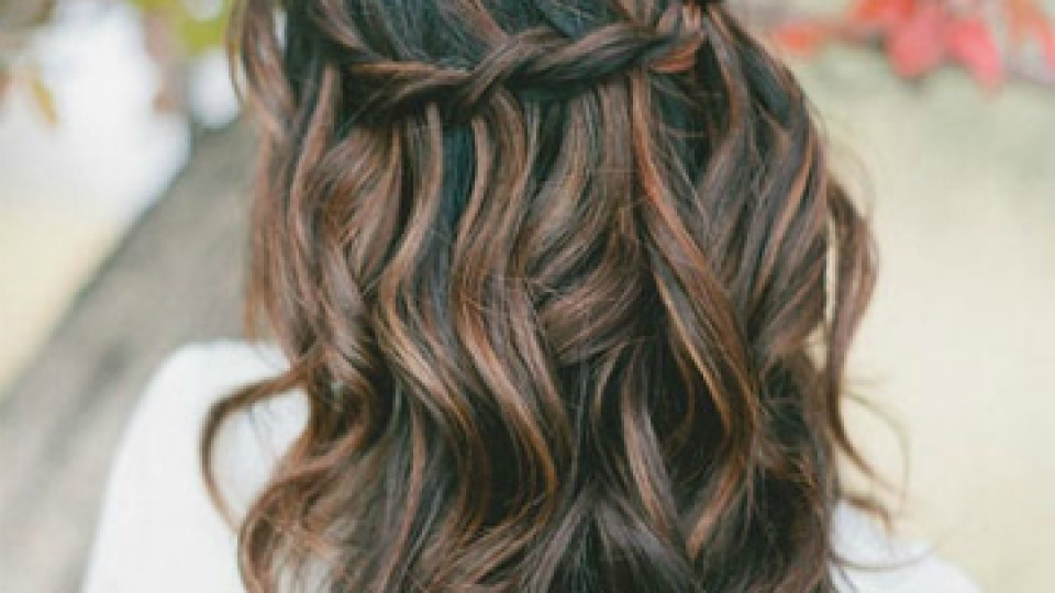 The 10 Best Half Up Half Down Wedding Hairstyles Stylecaster