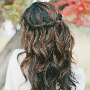 The 10 Best Half Up Half Down Wedding Hairstyles Stylecaster
