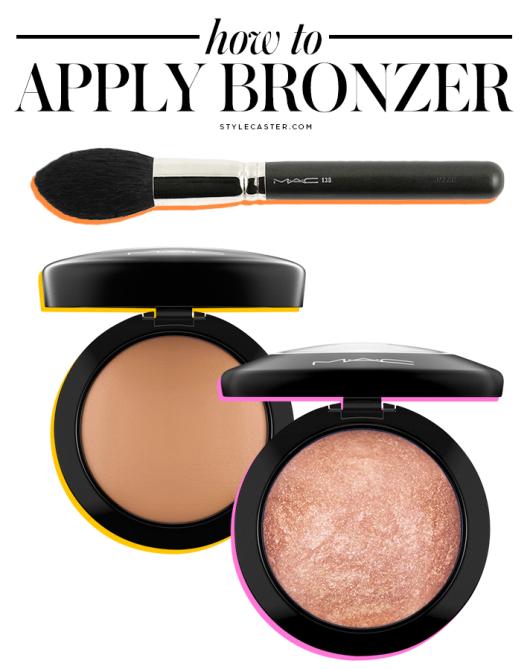 how to apply bronzer3 How to Apply Bronzer the RIGHT Way: Video