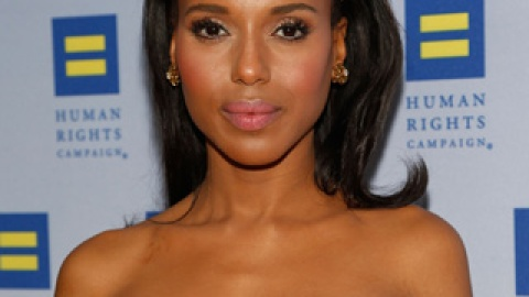 Get The Look: Kerry Washington's Effortless Down 'Do   StyleCaster