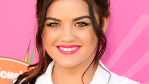 Get The Look: Lucy Hale's Bright Pink Lip | StyleCaster