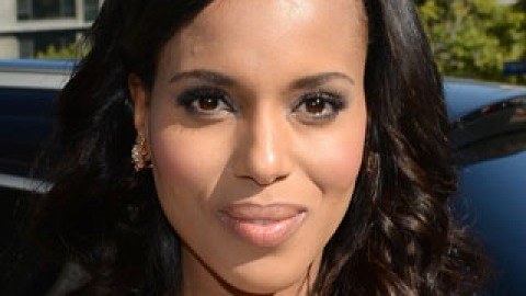 Get the Look: Kerry Washington's Bouncy Waves   StyleCaster