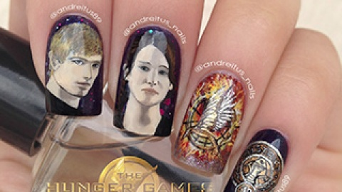 News: Hunger Games Nail Art (With a Mini Jennifer Lawrence!); Worst Photoshopped Magazine Covers | StyleCaster