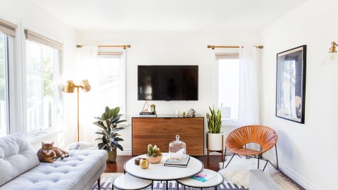 How to Create a Living Room That's Made for Instagram | StyleCaster
