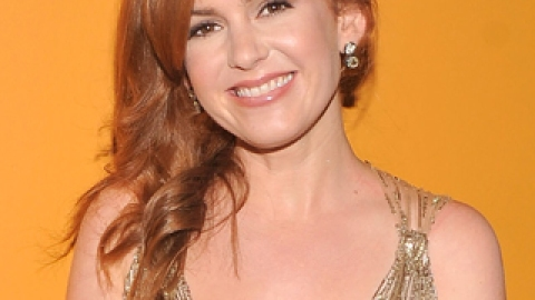 Get The Look: Isla Fisher's Asymmetrical Down 'Do | StyleCaster