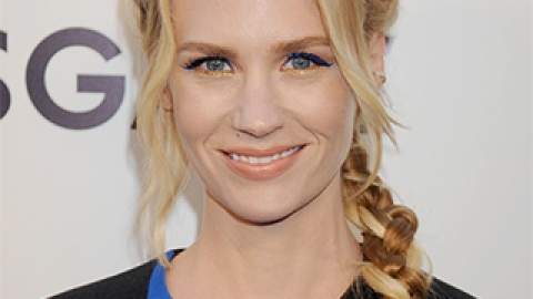 How to Get January Jones's Colorful Cat Eye | StyleCaster