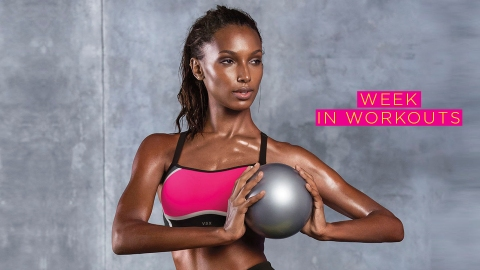 This Is the Exact Fitness Routine Model Jasmine Tookes Follows Each Week   StyleCaster