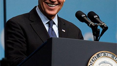 Joe Biden Reveals His Skin Care Secret on 'The Rachael Ray Show' | StyleCaster