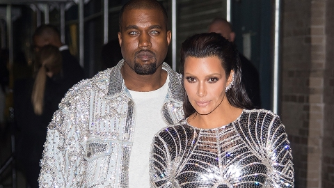 Was Kanye West Hinting at a New Venture with Those Blue Contacts? | StyleCaster