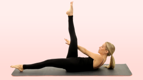 Shape-Up Your Lower Abs With Karen Lord's Pilates Workout