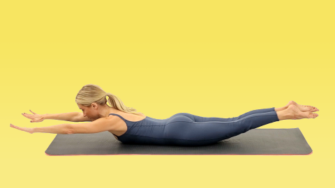 This Quick Pilates Sequence Will Tone Your Entire Body | StyleCaster